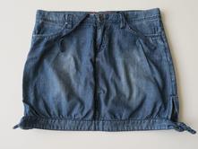 Letní riflová sukně, vel. s, zn. sam73, sam73,s