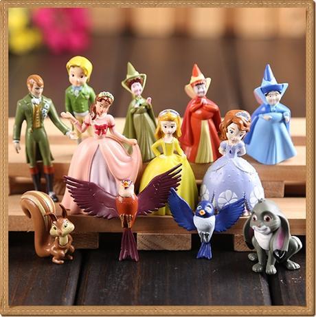 Princezna sofie sophie figurky i na dort,