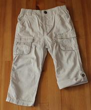 Bavlněné roll-up letní kalhoty, f&f,86