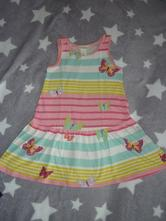 Šaty s motýlky, h&m,98