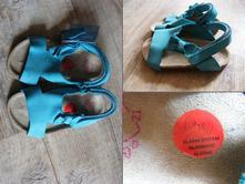 Kožené sandálky vel 21, 21