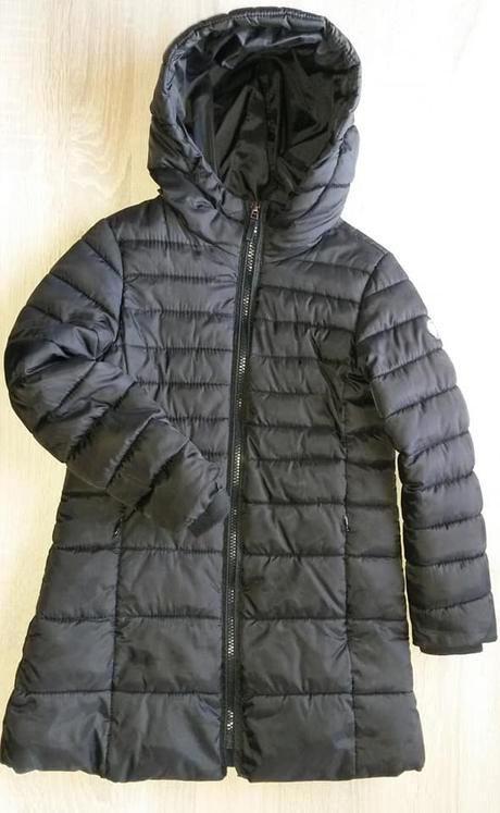 53725db494 Černý prošívaný kabát vel. 116