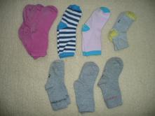 6x ponožky vel 26-29, 27