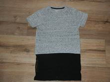 Delší melírované tričko next, next,152
