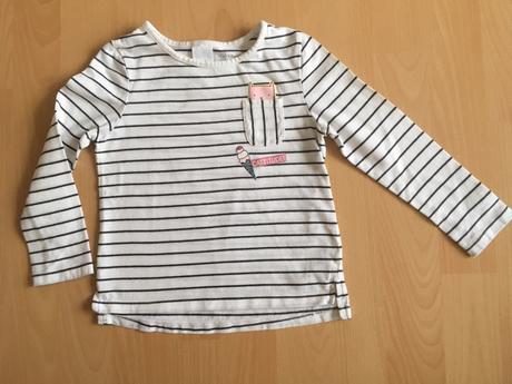 Triko, tričko s dlouhým rukávem vel. 98, c&a,98