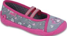 Dívčí balerínky befado, certifikovaná obuv, befado,27