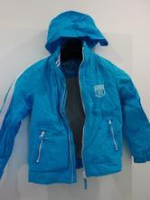 Jarní bunda s podšívkou modrá 134 ca, c&a,134