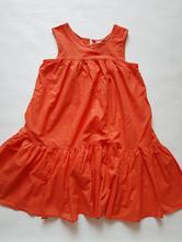 Oranžové lekhé šaty, next,152