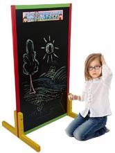 Dětská křídová tabule - barevná,