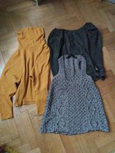Svetry a pletená vesta, l