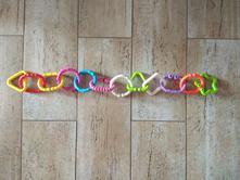 Řetěz na kočár/zavěšení hraček,