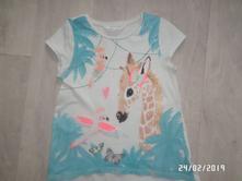 Krásné tričko koník, h&m,122