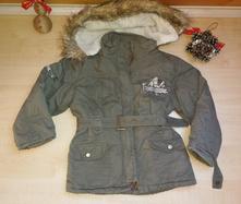 Zimni bundicka s kapuci 98-104, 104
