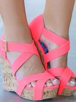 Nové boty na klínu vel 35, 35