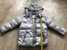 Unisex zimní bunda next zajíčci šedá 4-5let 110cm, next,110