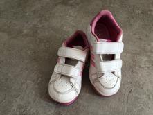 Tenisky adidas s růžovými pruhy, adidas,24
