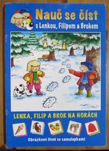 Nauč se číst s lenkou, filipem a brokem-na horách,