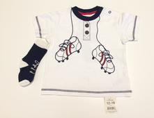 Bavlněné tričko pro fotbalistu kr. r., george,86
