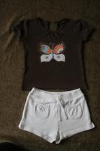 Tričko s motýlem , šortky. vel.86 -92, gap,92