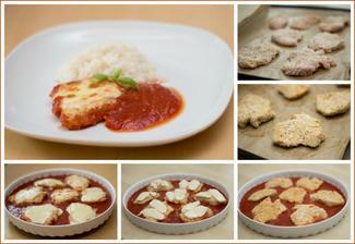 Italské kuřecí plátky (v mém případě krůtí), rýže