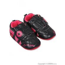 Dětské capáčky bobo baby 6-12m černé, <17