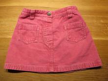 Dívčí manžestrová sukně, next,92