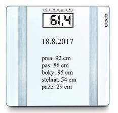srpen 2017 - BMI - 25,89 - nadváha... už jen malinkatý krůček k optimální váze ..