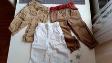 3x letni kalhoty, next,92