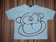 Nextíkové tričko s opičákem, next,68