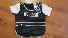 Kostým policie, vesta,