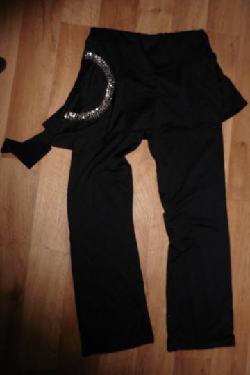 Kalhoty na cvičení se sukní-vel.m-38, m