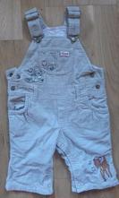 Kalhoty manžestrové / lacle - vel.68 hm, h&m,68