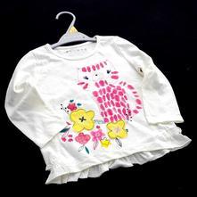 Dívčí tričko , tri-0139, nutmeg,92 / 98 / 116