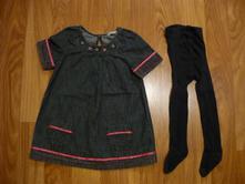 Riflové šaty s kapsami, ladybird,92