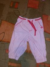 Plátěné kalhoty h&m vel. 74, h&m,74