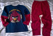 Vel. 116 pyžamový komplet angry birds, 116