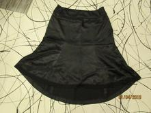 Černá sukně 2, xl