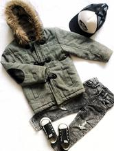 Zateplený zimní kabát, urban rascals,110