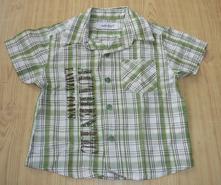 Kostkovaná košile early days kr.rukáv vel.74, early days,74