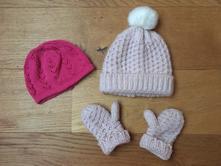 Zimní set čepice rukavice, f&f,98