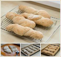 Kořenový chléb s bylinkami