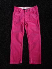 Malinové manšestrové kalhoty, marks & spencer,104