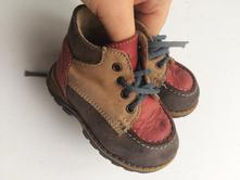 Kožené kotíkové boty č.273, 20