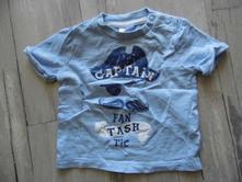 Bavlněné triko s pirátem, f&f,50