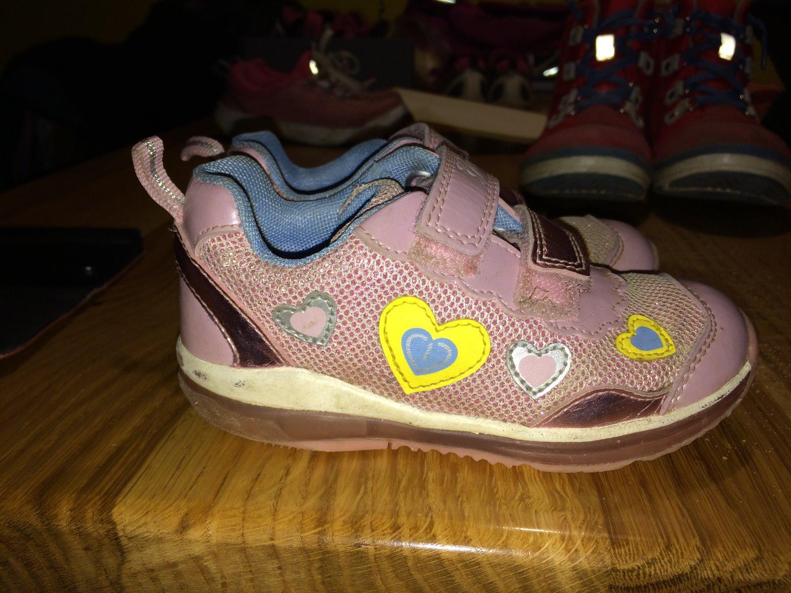 Dětské blikající boty geox ebd9e87462