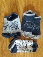 Kotníčkové ponožky vel. 27-29, se šmoulou, lupilu,27