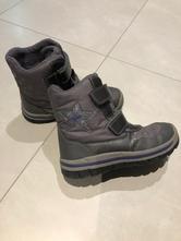 Zimní dívčí boty geox vel 33 blikající, geox,33