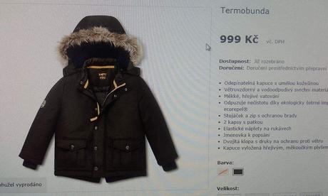 Zimní termo bunda, tcm,110