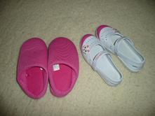2x boty gumové pantofle kroksy kočička  29, nelli blu,29