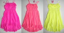 Letní šaty, 128 - 158